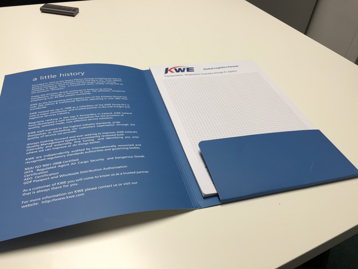 designed meeting folder